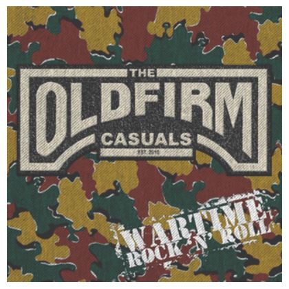 "vinyl 12""maxi SP OLD FIRM CASSUALS Wartime Rock'n'roll RSD 2018"