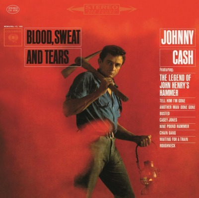 vinyl LP JOHNNY CASH Blood, Sweat And Tears