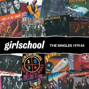 vinyl LP GIRLSCHOOL Singles 1979-1984