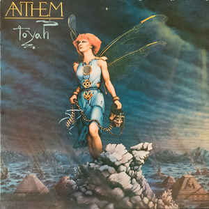 vinyl LP TOYAH Anthem