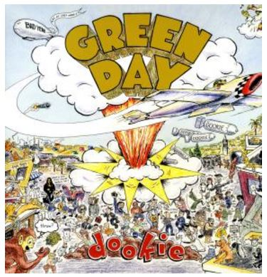 vinyl LP GREEN DAY Dookie (picture disc)