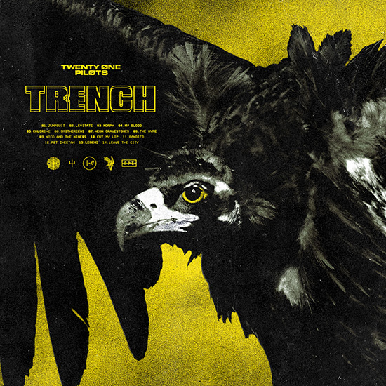 vinyl 2LP TWENTY ONE PILOTS Trench
