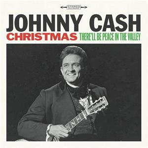 vinyl LP JOHNNY CASH Christmas There´ll Be Peace In The Valley