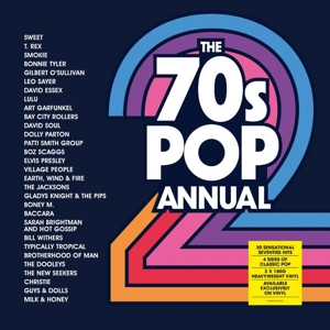 vinyl 2LP 70's Pop Annual 2 (various artists)