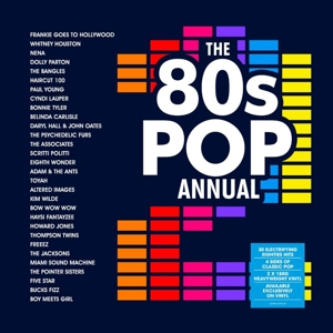 vinyl 2LP 80's Pop Annual vol 2 (various artists)