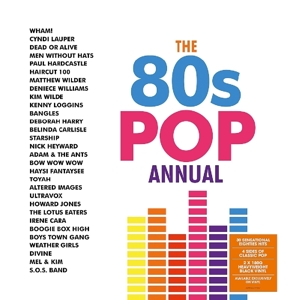 vinyl 2LP 80's Pop Annual (various artists)