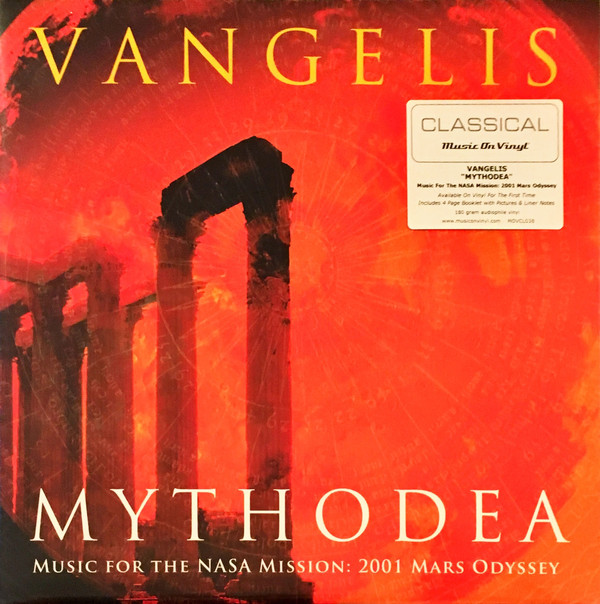vinyl 2LP VANGELIS Mythodea - Music For the Nasa