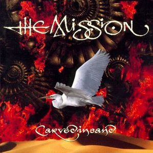 vinyl LP THE MISSION Carved In Sand