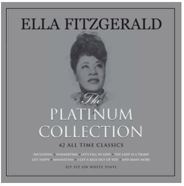 vinyl 3LP ELLA FITZGERALD Platinum Colection