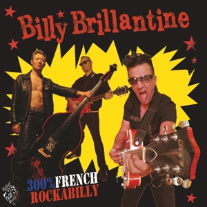 vinyl LP BILLY BRILLANTINE 300% French Rockabilly