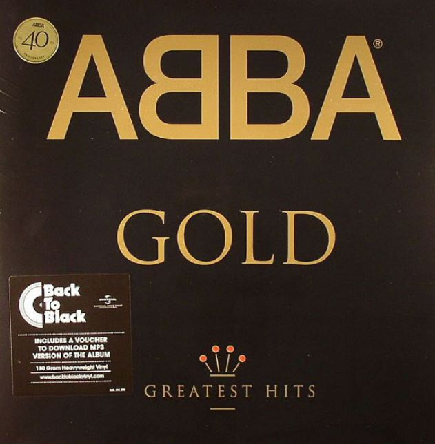 vinyl 2LP ABBA GOLD ( Greatest Hits )