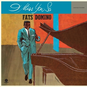 vinyl LP FATS DOMINO I Miss You So
