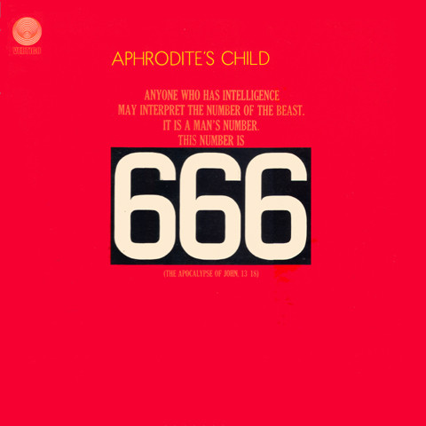 vinyl 2LP APHRODITE´S CHILD 666
