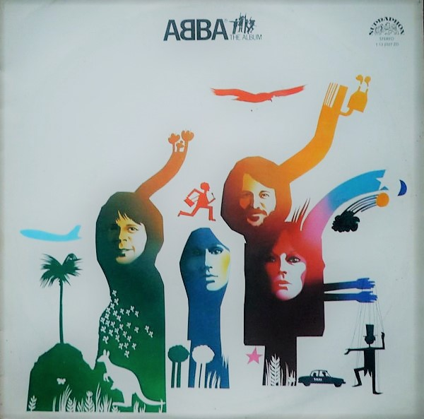 vinyl LP ABBA The Album