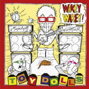 vinyl LP TOY DOLLS Wakey Wakey!