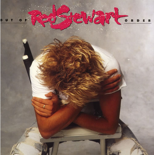 vinyl LP ROD STEWART Out Of Order