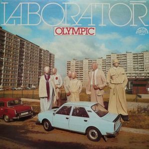 vinyl LP OLYMPIC Laboratoř