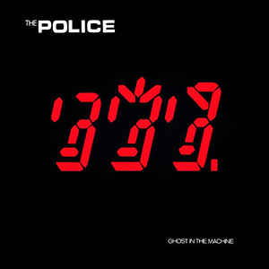 vinyl LP THE POLICE Ghost In The Machine