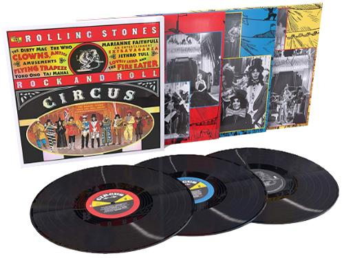 vinyl 3LP THE ROLLING STONES Rock And Roll Circus