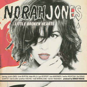 vinyl 2LP NORAH JONES Little Broken Hearts