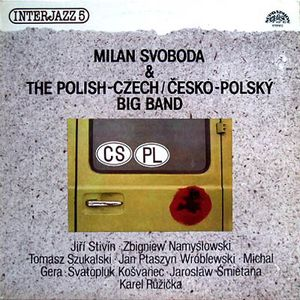 vinyl LP MILAN SVOBODA & THE POLISH-CZECH BIG BAND Interjazz 5