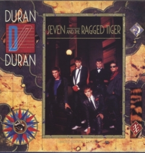 vinyl LP DURAN DURAN Seven and The Ragged Tiger