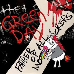 vinyl LP GREEN DAY Father Of All... (Red coloured edition )