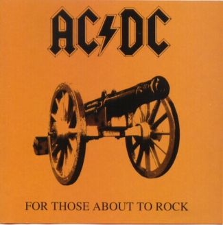 vinyl LP AC/DC For Those About To Rock