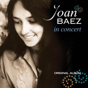 vinyl LP JOAN BAEZ In Concert