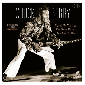 vinyl 2LP CHUCK BERRY Rockin' At The Hops / One Dozen Berrys / New Juke Box Hits