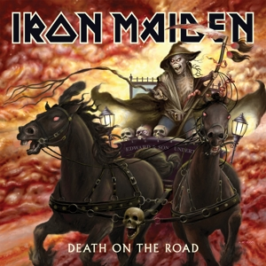 vinyl 2LP IRON MAIDEN DEATH ON THE ROAD (LP LIVE)