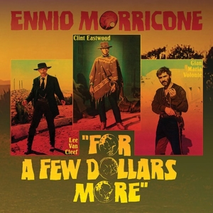 "vinyl 10"" OST Ennio Morricone For A Few Dollars More"