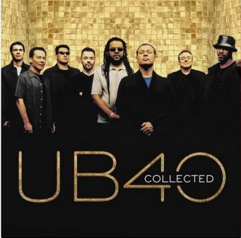 vinyl 2LP UB40 Collected (Transparent Vinyl)