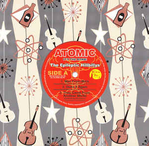 "vinyl 10""EP EPILEPTIC HILLBILLYS Atomic It´s The Bomb!"