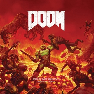 vinyl 4LP Mick Gordon ‎Doom (Original Game Soundtrack)