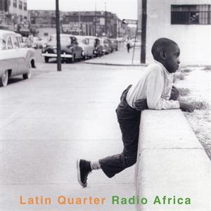 vinyl 2LP LATIN QUARTER RADIO AFRICA (Crystal clear vinyl)