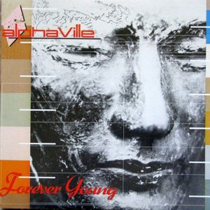 vinyl LP ALPHAVILLE Forever Young (Orange vinyl)