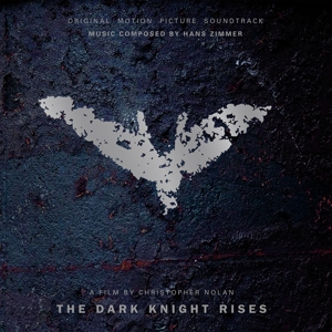 vinyl LP ORIGINAL SOUNDTRACK THE DARK KNIGHT RISES (clear, blue & red marbled vinyl)