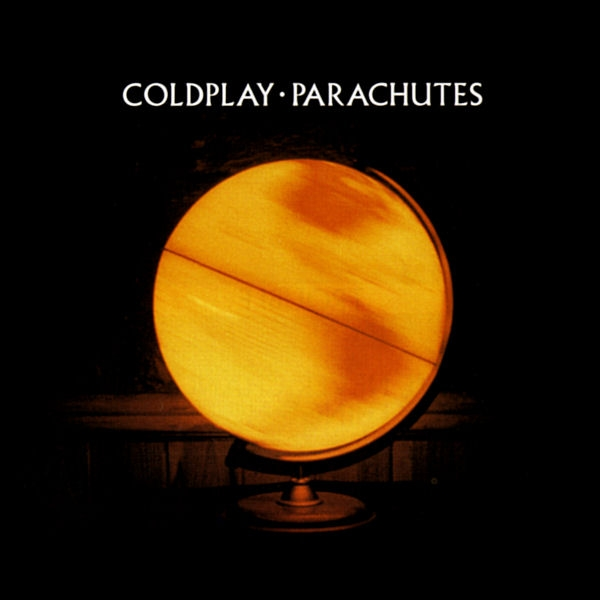 vinyl LP COLDPLAY PARACHUTES (20th anniversary translucent yellow vinyl)