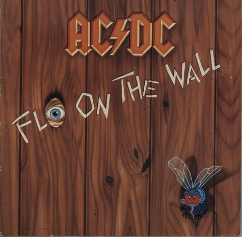 vinyl LP AC/DC  Fly On The Wall