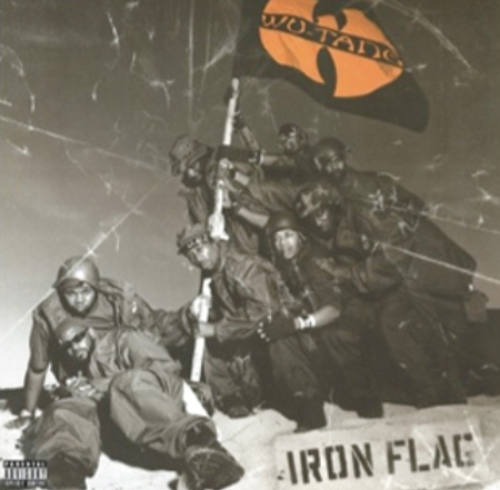 vinyl 2LP WU-TANG CLAN Iron Flag
