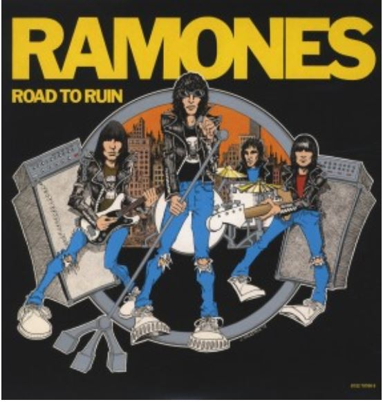 vinyl LP RAMONES Road To Ruin (Colored vinyl)