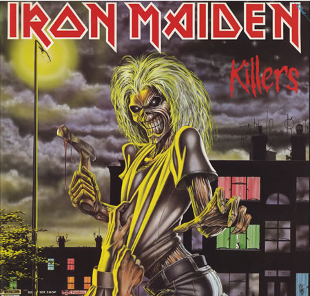 vinyl LP IRON MAIDEN Killers
