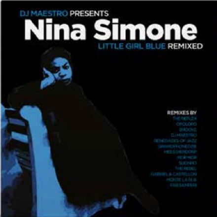 vinyl 2LP NINA SIMONE/DJ MAESTRO Little Girl Blue Remixed