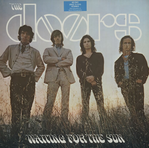 vinyl LP THE DOORS Waiting For The Sun