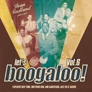 vinyl LP Let´s Boogaloo! Vol. 6 (various artists)