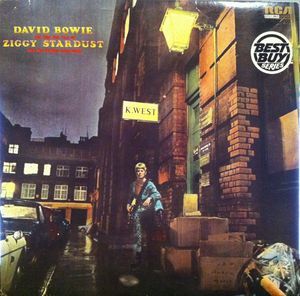 vinyl LP BOWIE, DAVID THE RISE AND FALL OF ZIGGY STARDUST AND THE SPIDERS FROM MARS