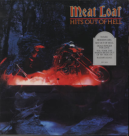 vinyl LP MEAT LOAF Hits Out Of Hell