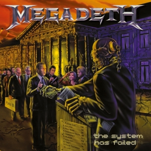vinyl LP MEGADETH System Has Failed