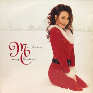vinyl LP MARIAH CAREY Merry Christmas